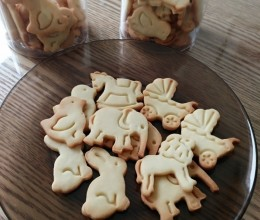 教你做好吃的小动物饼干