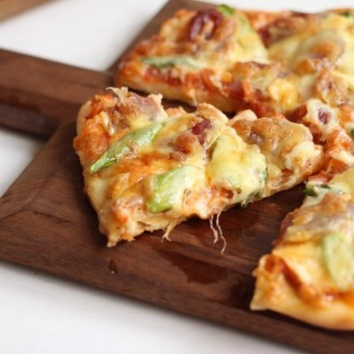 廣式臘腸蘆筍披薩