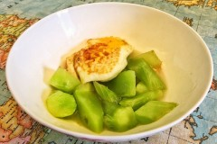 莴苣炖荷包蛋
