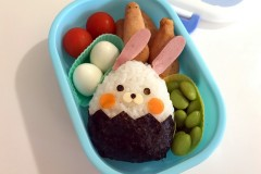 小兔子饭团便当