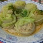 白菜猪肉卷