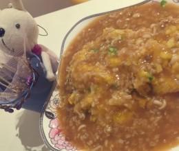 天津饭(蟹玉饭)