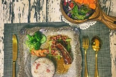 青虾萝卜丝汤