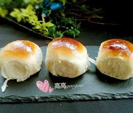 普通面粉做的柔软小餐包