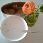 一分钟早餐:燕麦牛奶粥