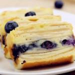 蓝莓苹果隐形蛋糕