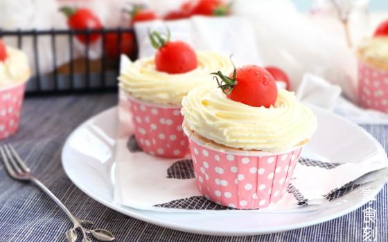 微波炉西红柿蛋糕