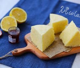 清新柠檬蒸蛋糕