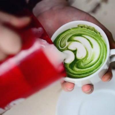 无意式咖啡机家庭拉花系列——国产双层打奶泡壶打奶泡教程