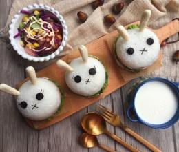 兔子米汉堡