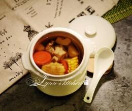 马蹄玉米排骨汤