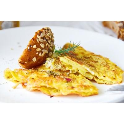 鸡蛋马铃薯饼(无需翻面)