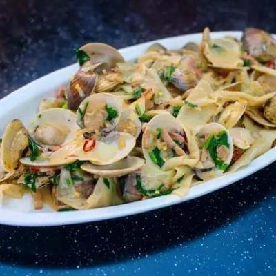 白酱蛤蜊意大利面