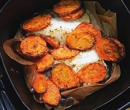 胡萝卜烤鱼(空气炸锅版)