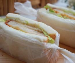【山姆厨房】海鲜可乐饼三明治