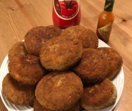 牛肉土豆可乐饼 Beef and Potato Cakes