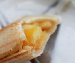 甜橙香蕉三明治(三明治机版)