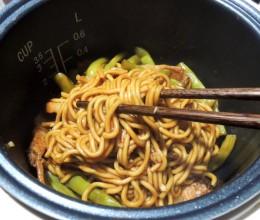 电饭锅版扁豆焖面