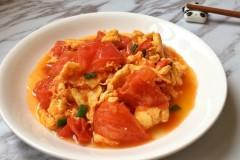 番茄炒土鸡蛋