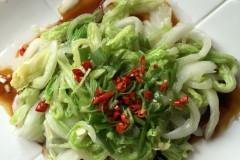炝拌圆白菜