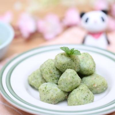 宝宝辅食食谱  翡翠虾球